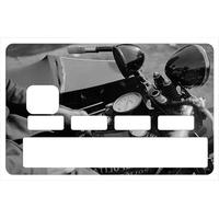 Sticker pour carte bancaire, harley Davidson police 1938