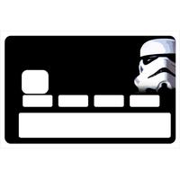 Sticker pour carte bancaire, hommage aux Stormtroopers