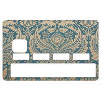 Stickers décoratif pour carte bancaire, old paper 70