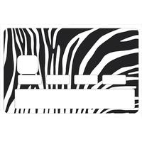 Stickers décoratif pour carte bancaire, zéŽbre