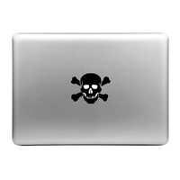 Sticker pour MacBook OU ipad , SKULL AND BONES