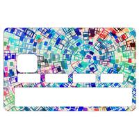 Stickers décoratif pour carte bancaire, Color, créé par le DgedeNice