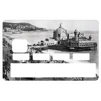 Stickers décoratif pour carte bancaire, La jetée Promenade de Nice