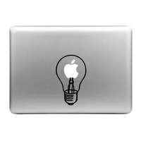 Sticker pour MacBook, Ampoule