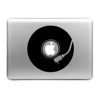 Sticker pour MacBook, platine vynil