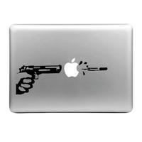 Sticker pour MacBook, pistolet automatique
