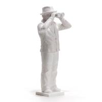 Worldview Model IV, blanc, by Ottmar Horl
