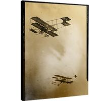 Impression photo sur toile - Airplane à Los Angeles, 1900