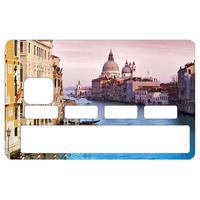 Stickers CB, decoratif, pour carte bancaire, Venise