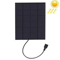 Panneau solaire Chargeur par port USB , télephone, MP3.... 5.5W / 5V