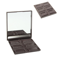 Miroir de sac, tablette de chocolat