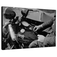 Impression photo sur toile , Harley Police 1938