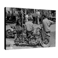 Impression photo sur toile, Baker Motorcycle Club 1938