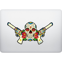 Sticker pour MacBook ou PC, Catarina Calavera, crée par le DgedeNice