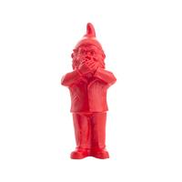 Statuette Le Nain qui ne veut pas parler, de Ottmar Hörl