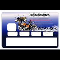 Sticker pour carte bancaire, Merde, Merde, Merde.., edition limitée 100 ex