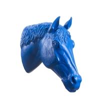 Sculpture, la Tête de cheval de Ottmar Hörl