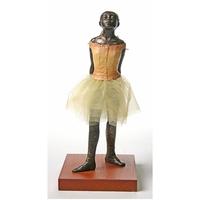Reproduction, La petite danseuse de 14 ans, de DEGAS - H. 16 cm