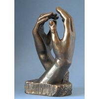 Le secret de Rodin, la cathédrale, H. 17 cm