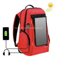 Sac à dos HAWEEL, avec panneau solaire et chargeur