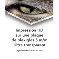 Impression photo HD sur plexiglas