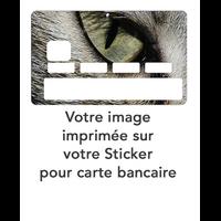 Stickers pour carte de Crédit à personnaliser - Réalisez VOTRE Sticker décoratif pour carte bancaire