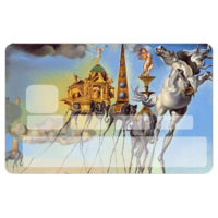 Stickers décoratif pour carte bancaire, Hommage à DALI