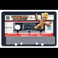 Stickers décoratif pour carte bancaire, La K7 de bébé GROOT, par le DgédeNice