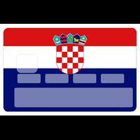 Sticker pour carte bancaire, CROATIE