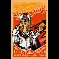 Aerosmith au Chili, Impression photo HD sur plexiglas
