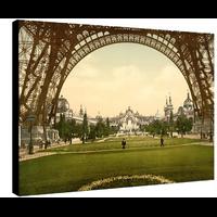 Paris, le champs de Mars en 1900, Dimensions: 50 cm x 70 cm