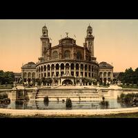 Paris, le Trocadero 1900, Dimensions: 50 cm x 70 cm