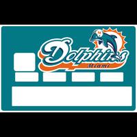 Sticker pour carte bancaire, Dolphins de Miami