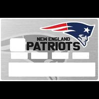 Sticker pour carte bancaire, New England PATRIOTS