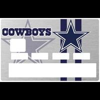 Sticker pour carte bancaire, Dallas Cowboy, America's Team