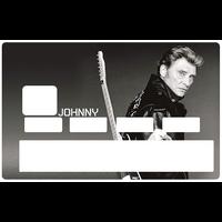 Stickers décoratif pour carte bancaire, Johnny, edit. limitée 300 ex