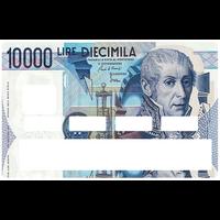 Sticker pour carte bancaire, 10000 LIRES en italie
