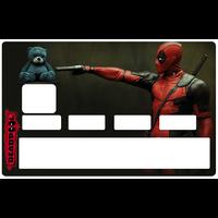Sticker pour carte bancaire, DEADPOOL