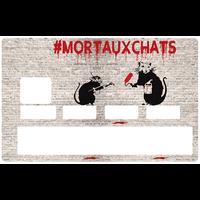 Sticker pour carte bancaire, Hommage à Banksy