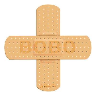 Sticker pour auto ou moto, pansement pour GROS BOBO