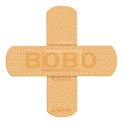Sticker pour auto, pansement pour GROS BOBO Dim.: 8x8 cm
