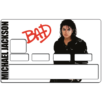 Sticker pour carte bancaire, Tribute to Michael Jackson