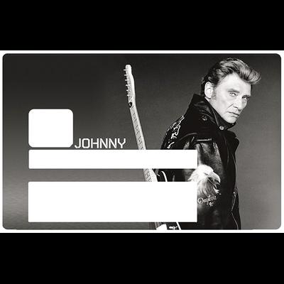 JOHNNY, Sticker pour carte bancaire type ELECTRON