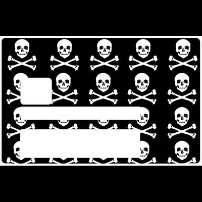 Pirate, Sticker pour carte bancaire type ELECTRON