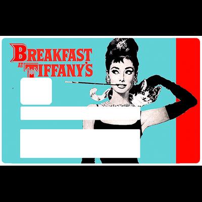 Audrey Hepburn, Sticker pour carte bancaire type ELECTRON