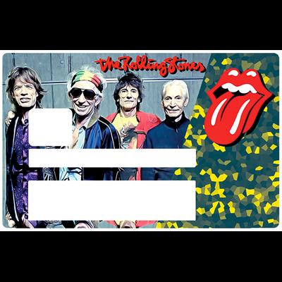 The Rolling Stones, Sticker pour carte bancaire type ELECTRON