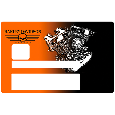 Harley Davidson, Sticker pour carte bancaire type ELECTRON