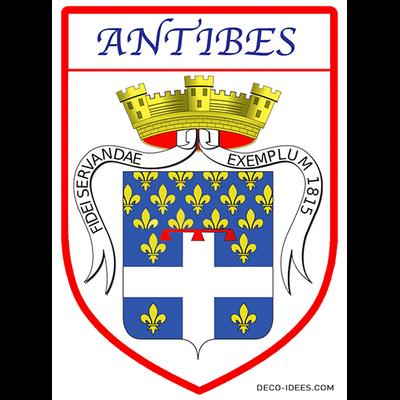 Sticker, Blason d'ANTIBES