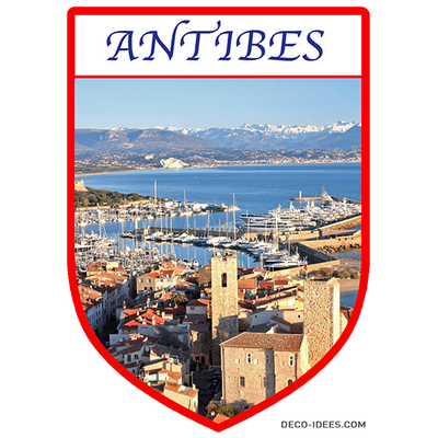 Sticker, Blason d' ANTIBES
