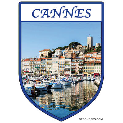 Sticker, Blason de CANNES